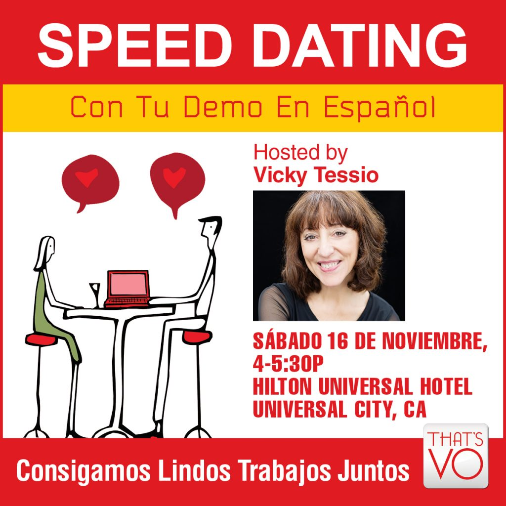 Speed dating no Espanol homofil dating show på Bravo